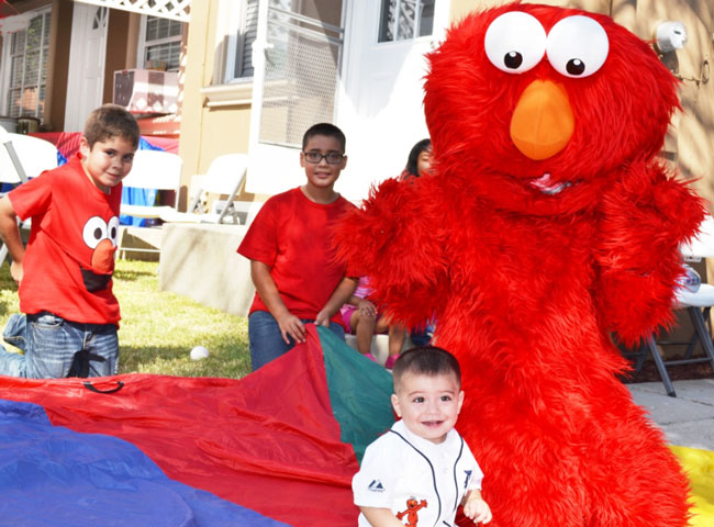 Children's Party with Elmo