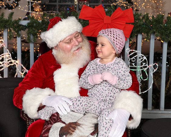 Santa Claus with Child