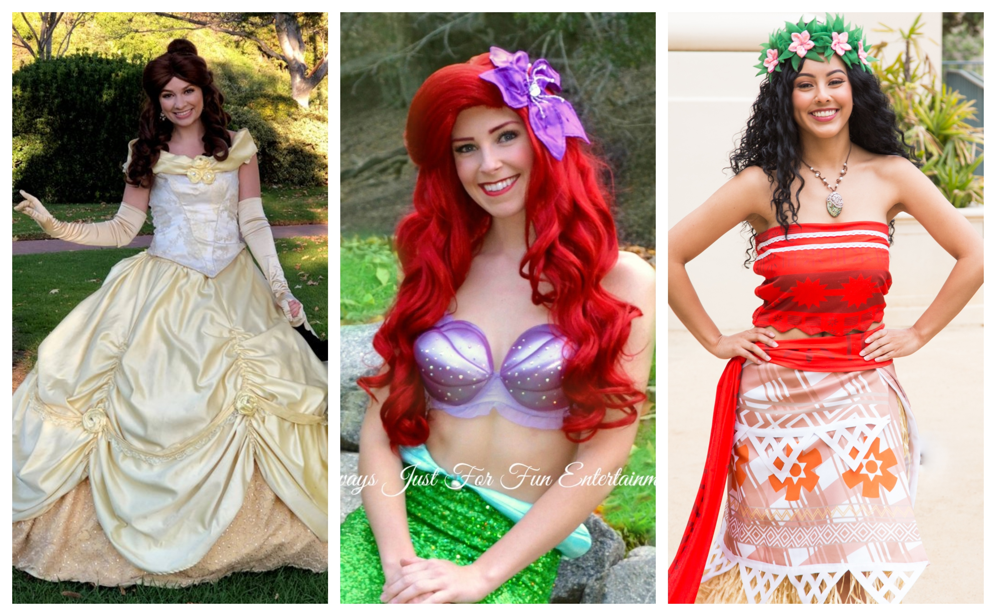 Collage Of Princesses