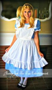 Alice in Wonderland Megan