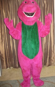 Barney Purple Dinosaur