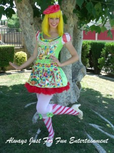 Candyland Clown Girl