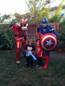 Captain American and Iron Man