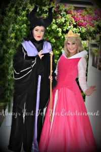 Evil Queen and Sleeping Beauty