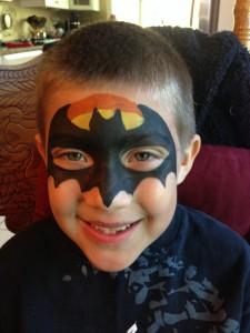 Face Painting Batman
