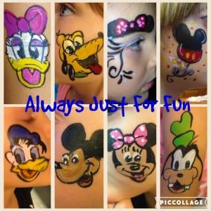 Face Painting Disney