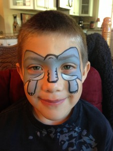 Face Painting Elephant