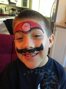 Face Painting Mario Bros