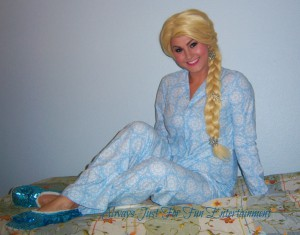 Elsa Slumber Pajama Party