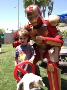 Iron Man with Child