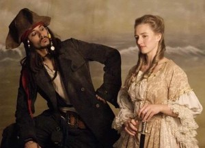 Jack Sparrow and Renaissance lady