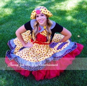 Lady Bug Clown