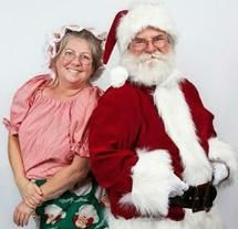 Mrs. and Mr. Claus