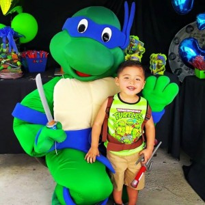 Ninja Turtle with Child