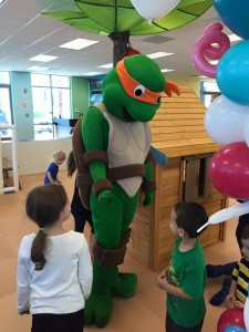 Ninja Turtle with Kids
