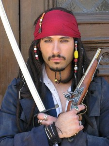 Pirate Jack Sparrow