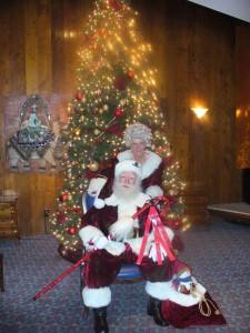 Santa R & Mrs Claus, OC,LA