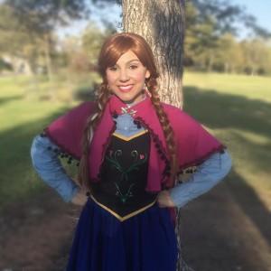 Spanish Speaking Snow Princess Anna