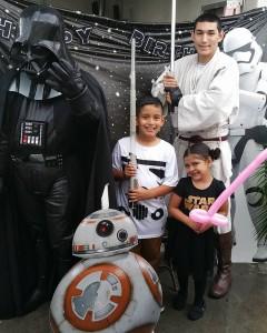 Star Wars Darth Vader and Jedi