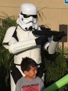 Stormtrooper with Child