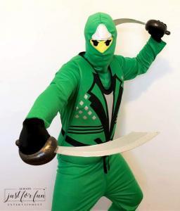 Ninjago Cole Green