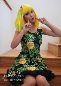 Pineapple Gal Girl Doll Princess