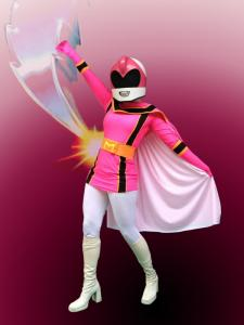 Power Ranger Pink