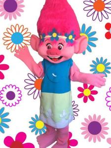 Poppy Trolls Mascot