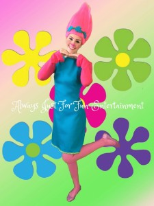 Poppy Trolls Girl