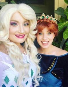 Spirit Elsa & Queen Anna