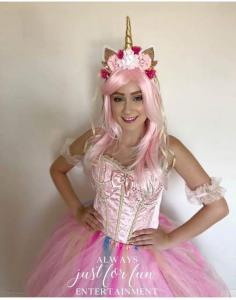 Unicorn Princess Pink